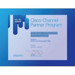 Certificat CISCO Small and Midsized Specialized Partner